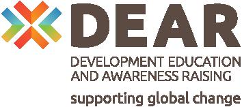 Logo: DEAR Development Education and Awareness Raising - supporting global change